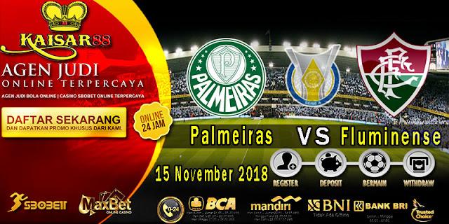 Prediksi Bola Terpercaya Liga Brazil Palmeiras Vs Fluminense 15 November 2018