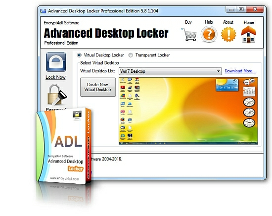 [GIVEAWAY] Advanced Desktop Locker [PRO EDITION]