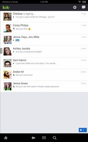 Kik Messenger for Kindle Fire