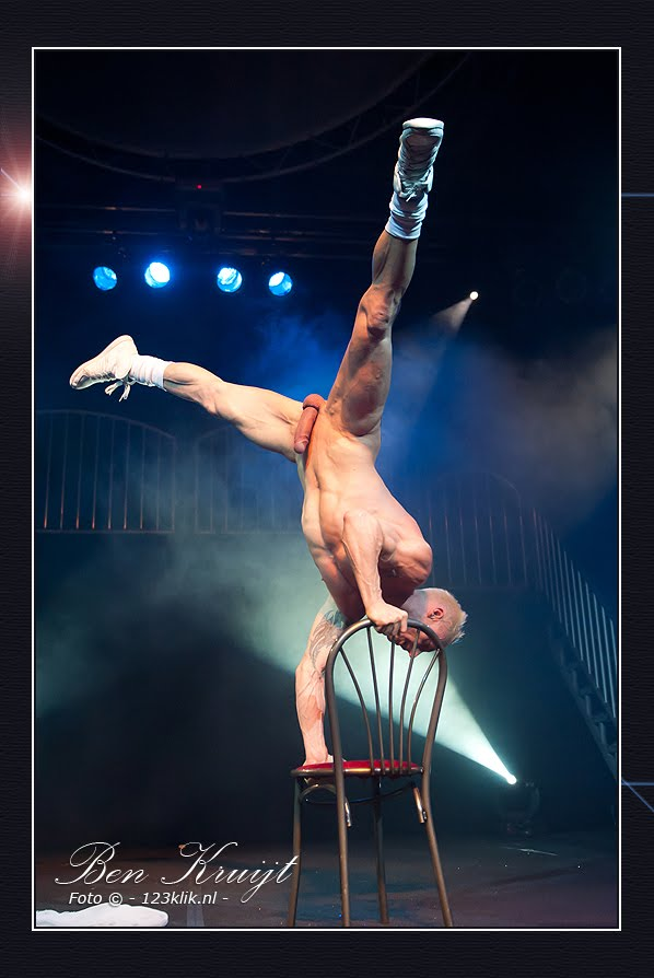 Performing Males Naked Acrobatics-9161