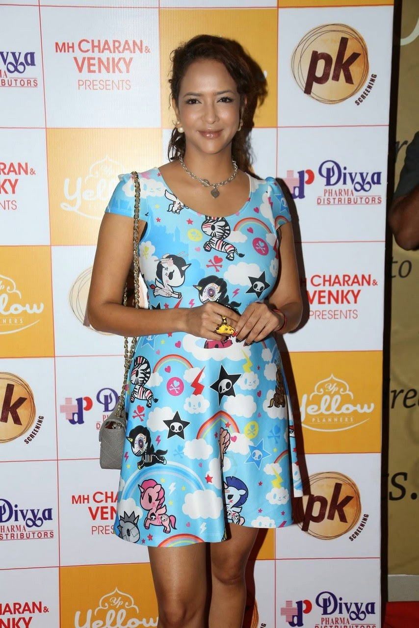 Actress Manchu Lakshmi Latest Cute Hot Spicy Photos Gallery At PK Movie Premiere Show