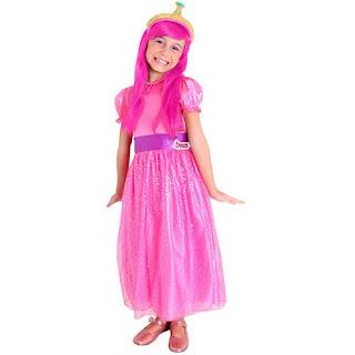 Fantasia Infantil Hora de Aventura Princesa Jujuba