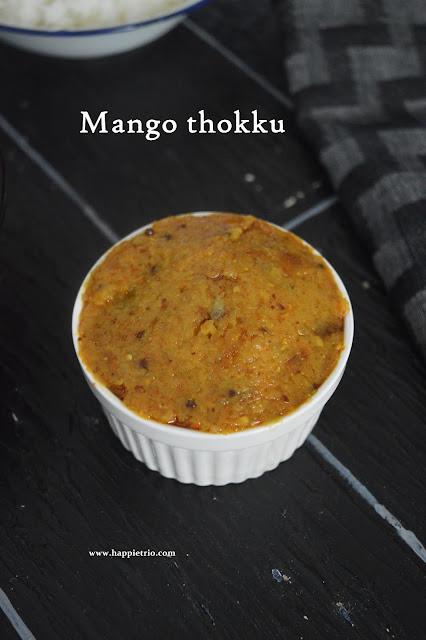 Raw Mango Thokku Recipe | Manga thokku
