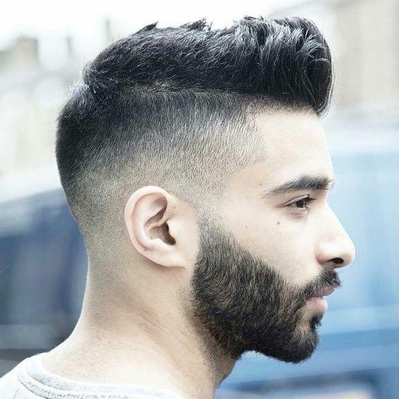 Taglio capelli rasati lato