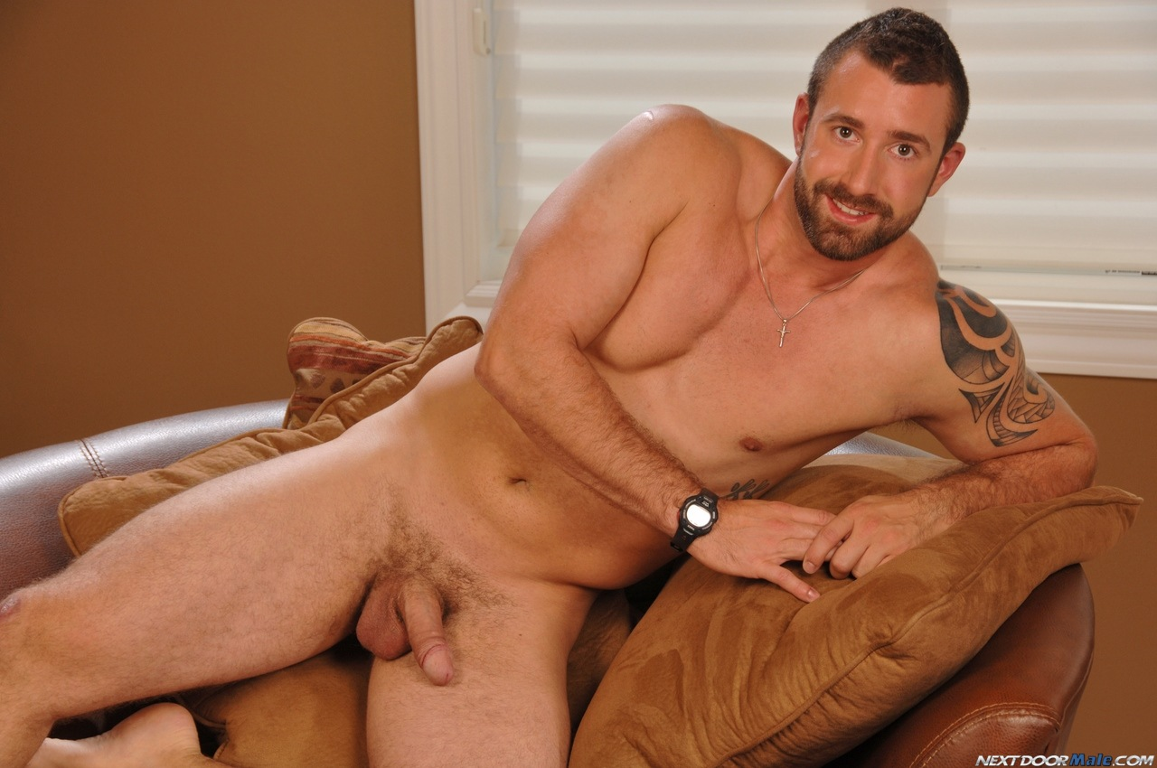 >bearded guy vinny castillo jerks off for next door male ...