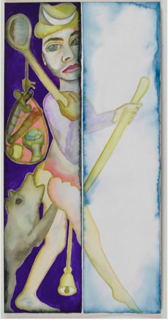 Francesco Clemente as The Fool