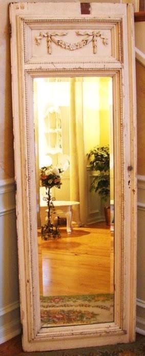 Consigli d 39 arredo shabby chic o provenzale - Specchio da porta ...