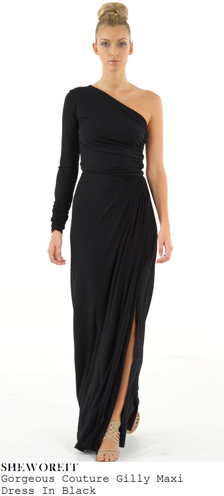 Sheworeit Jessica Wright S Gorgeous Couture Gilly Black
