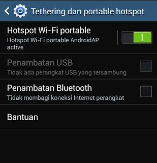 hotspot Wa-Fi