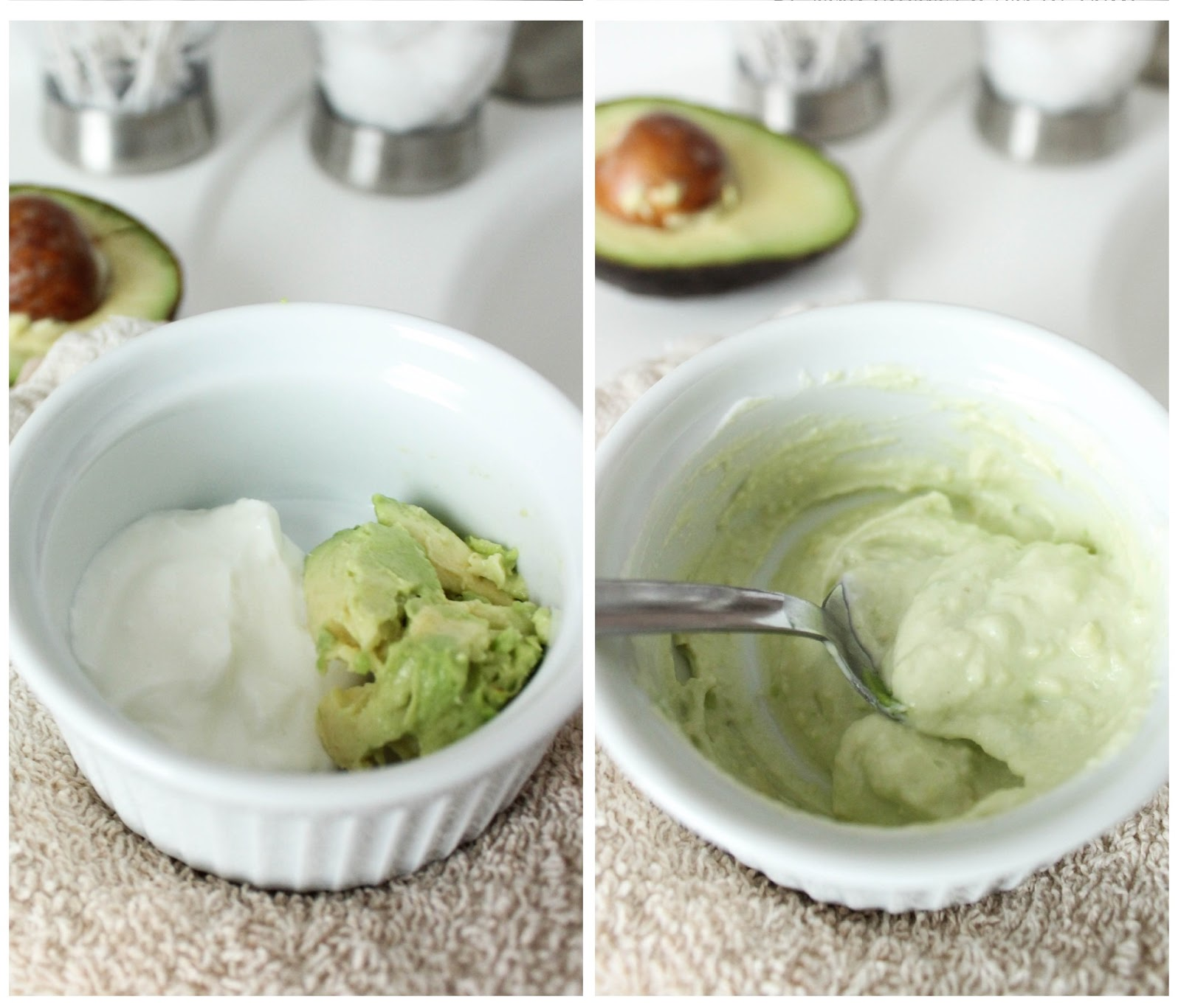 Mayonnaise and Avocado Mask Treatment For Damaged Hair