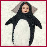 Saco pingüino