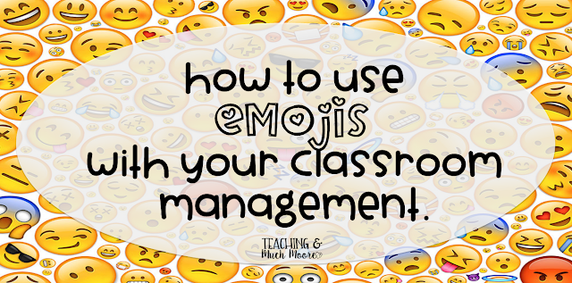 emoji behavior management tip