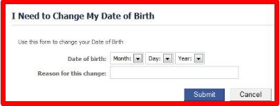 how to change birthday on facebook app