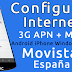 Configurar APN de Internet 3G y MMS Movistar España 2017 en Android, iPhone y Windows Phone