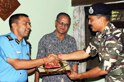 SSB exchanges Diwali, Deepavali greetings with Nepal and Bhutan Police