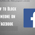 How To Add To Block List On Facebook