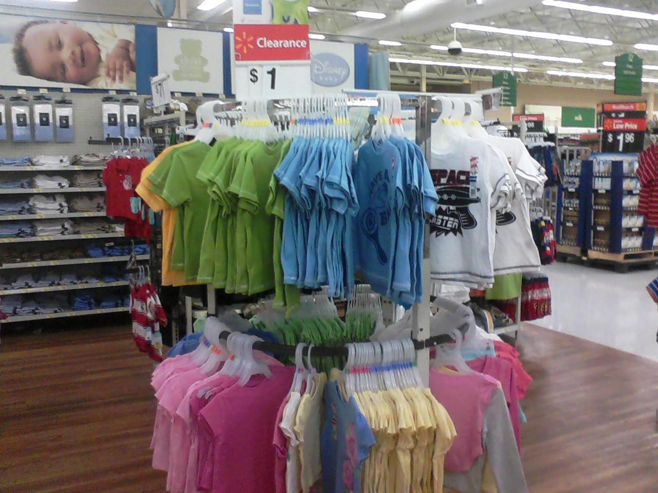 Workin' The Deals: Walmart: SWEET $1 Clearance Racks ...