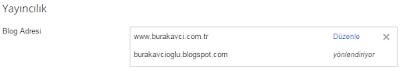 Domaini Blogger'e Yönlendirmek ve Yandex DNS Ayarları