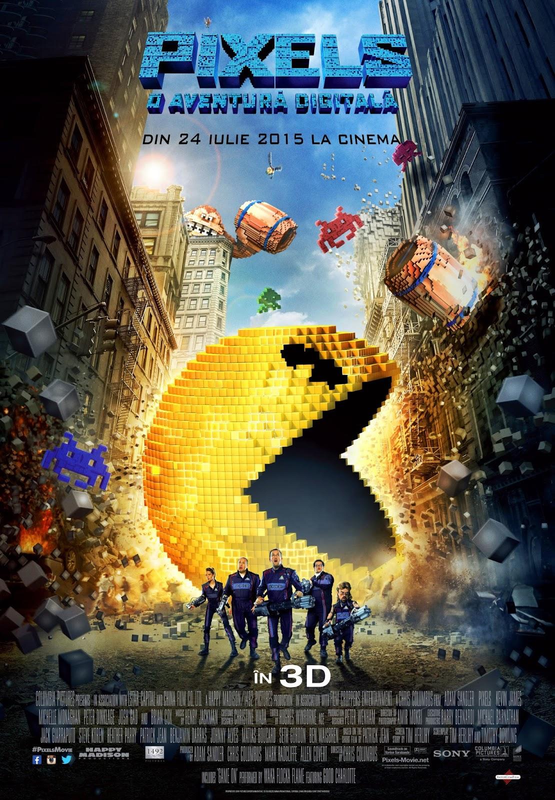 Xem Phim Đại Chiến Pixels 2015