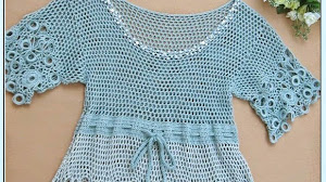 Vestido de verano al crochet