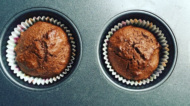These chocolate cupcakes are so healthy that they can be eaten guilt free – even in the middle of the night if you're that way inclined