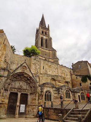 Iglesia monolítica de St-Émilion