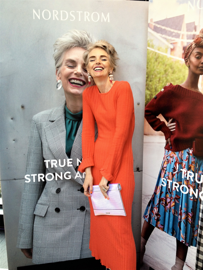 Mel Kobayashi of Bag and a Beret in Nordstrom's True Nord media campaign
