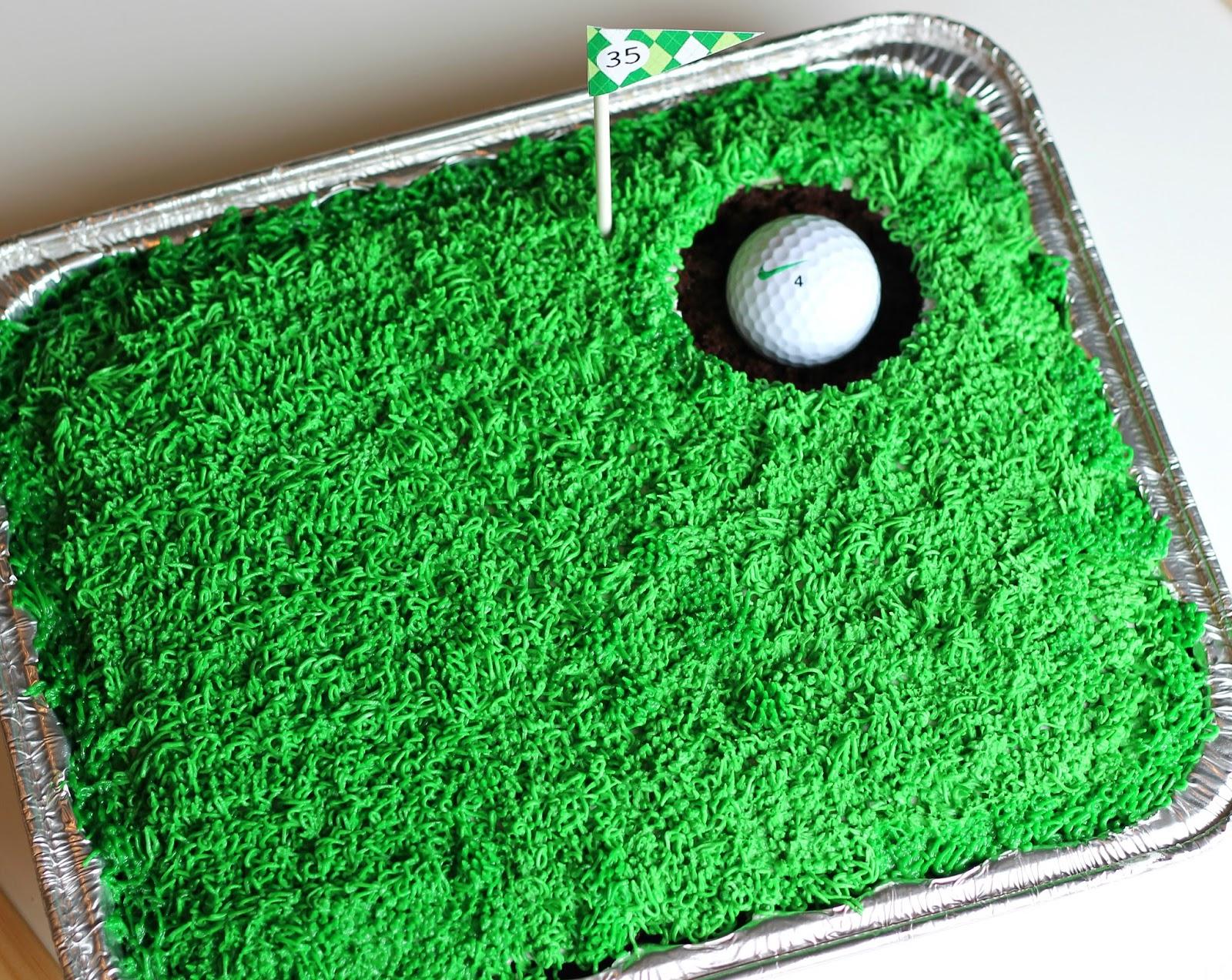 The Golfer Cake