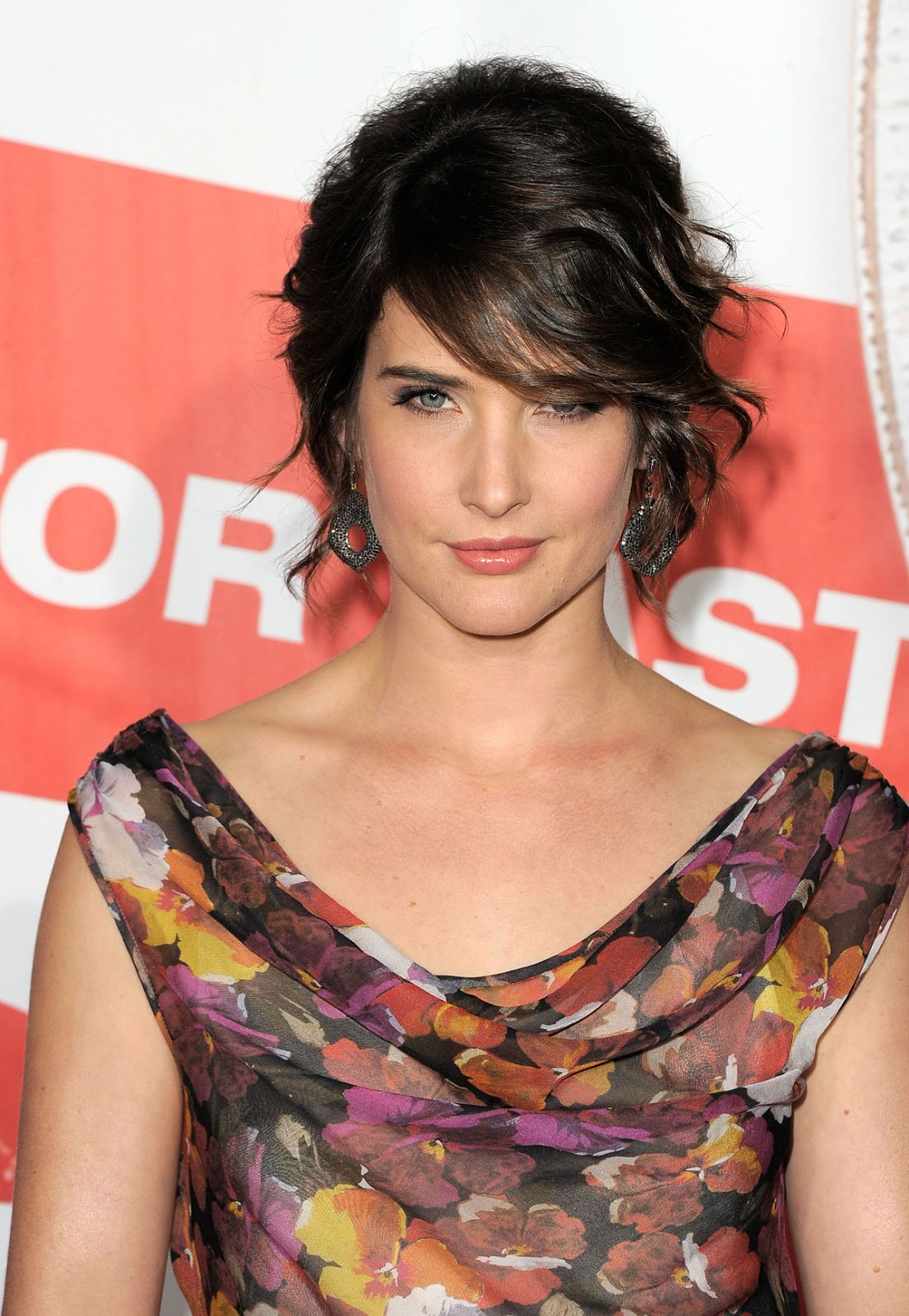Marvel Comics Actress Cobie Smulders at American Reunion Premiere in Los Angeles