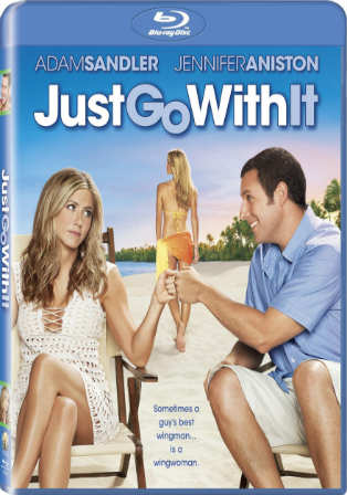 Just Go With It 2011 BRRip 900MB Hindi Dual Audio 720p Watch Online Full Movie Download bolly4u