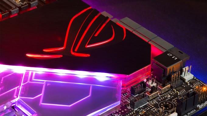 Placa Mãe ASUS ROG LEDS