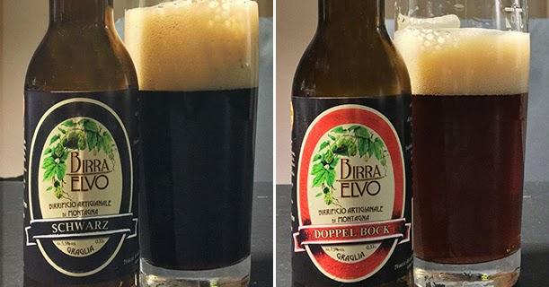 Birra Elvo Schwarz & Doppel Bock