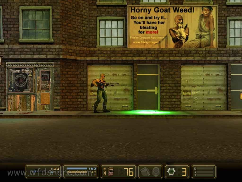 game ringan highly compressed Duke Nukem Manhattan Project