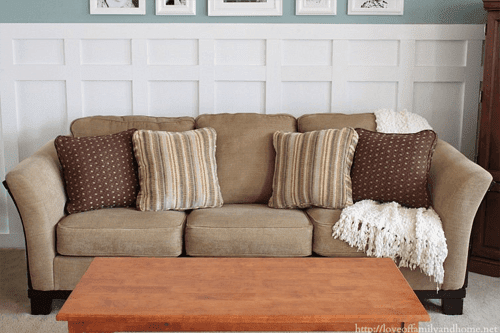 How to Make Your Lumpy Couch Look Like New
