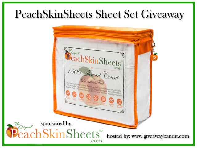 New Age Mama Peach Skin Sheets Giveaway