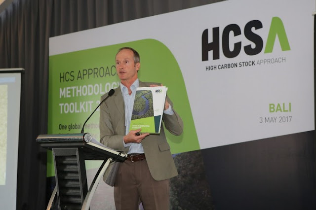 Grant Rosoman Co-Chair dari High Carbon Stock (HCS) Steering Group