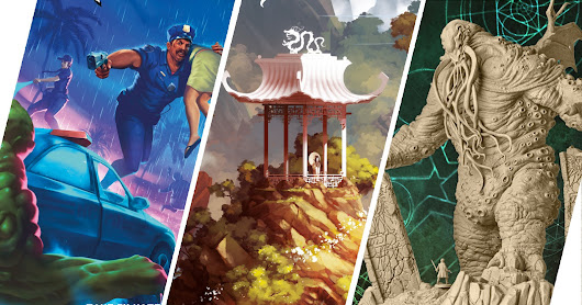 Awesome Games Coming in 2019 Part 2: Kickstarter Arrivals