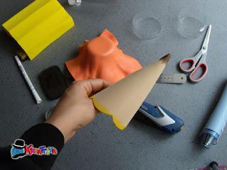 crea una maxi matita per un inizio scuola creativo