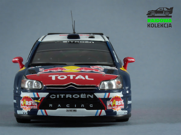 IXO RAM430 Citroen C4 WRC Rally Portugal 2010