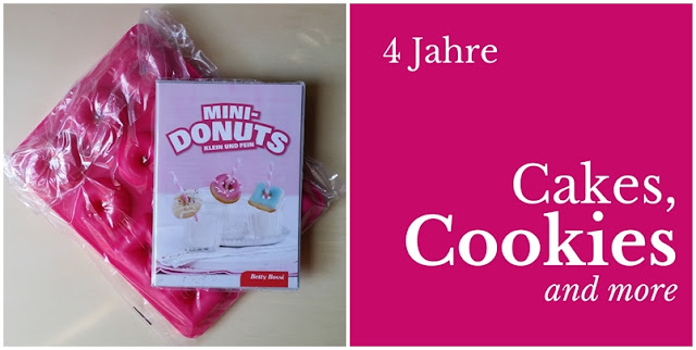 Gewinne bei Cakes, Cookies and more eine Mini-Donuts Backform
