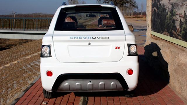copia cinese Range Rover Evoque