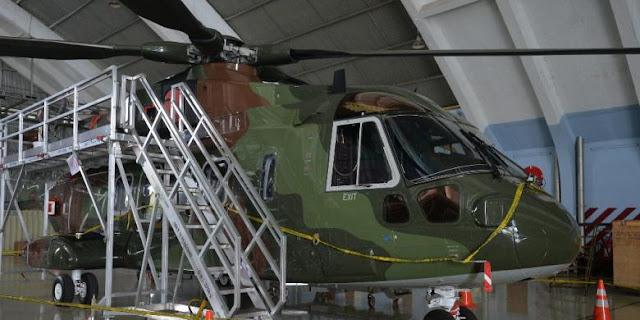 Korupsi Pengadaan Heli AW101 Menyeret Tiga Nama Personil TNI AU