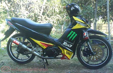 Modifikasi Motor Vega ZR 2011
