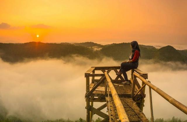 Rute Lokasi Bukit Panguk Kediwung