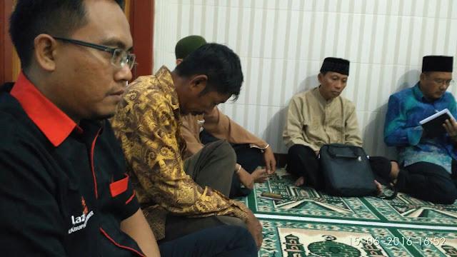 Team Lazismu Jember Safari Ramadhan di PCM Tempurejo