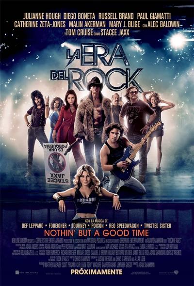 La Era del Rock DVDRip Español Latino Película 2012