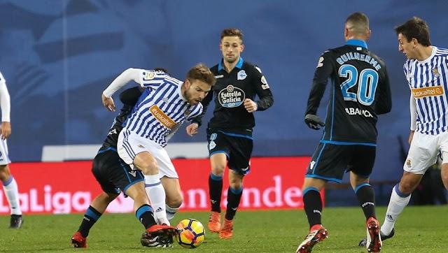 Real Sociedad 5×0 La Coruña - YA ES HISTÓRIA!!!