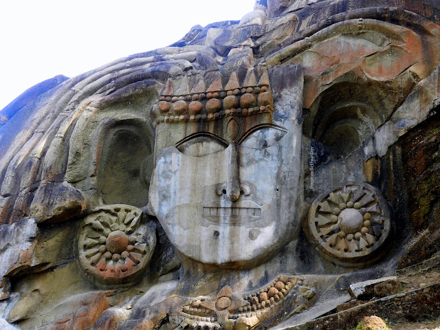 Unakoti, Tripura, Agartala, rock, sculptures