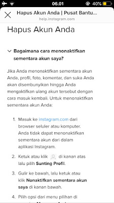 secara permanen adalah perkara yang mudah Cara Menghapus Akun Instagram Secara Permanen Lengkap dengan Gambar