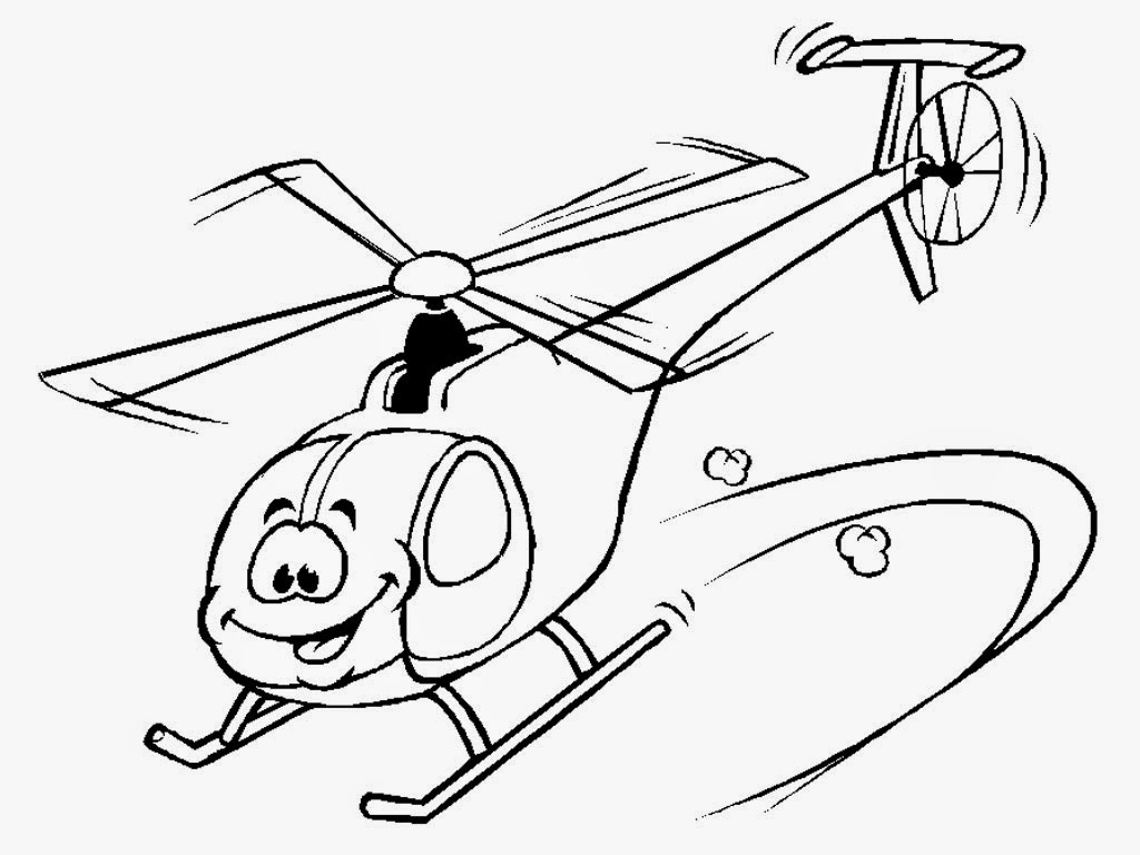 Rescue helicopter coloring pages | Realistic Coloring Pages